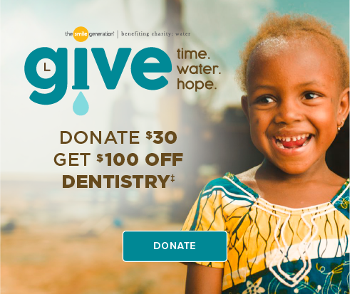 Donate $30, Get $100 Off Dentistry - Lake Houston Smiles Dentistry